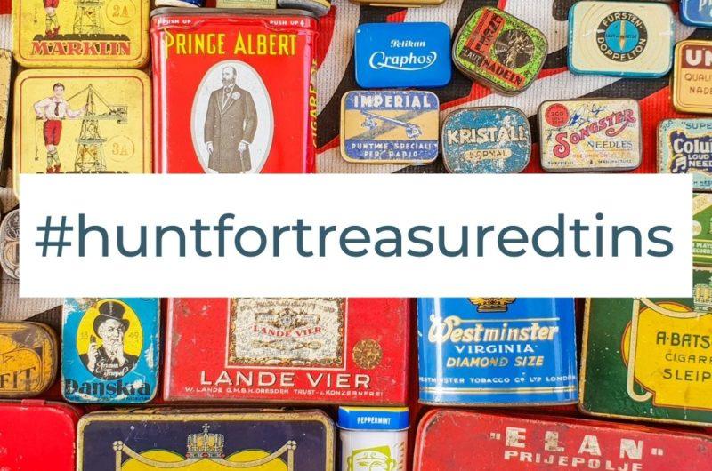 Hunt for treasured tins