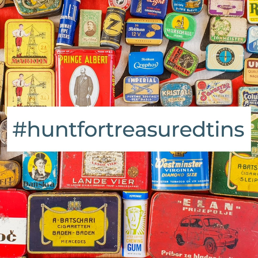 Hunt for treasured tins