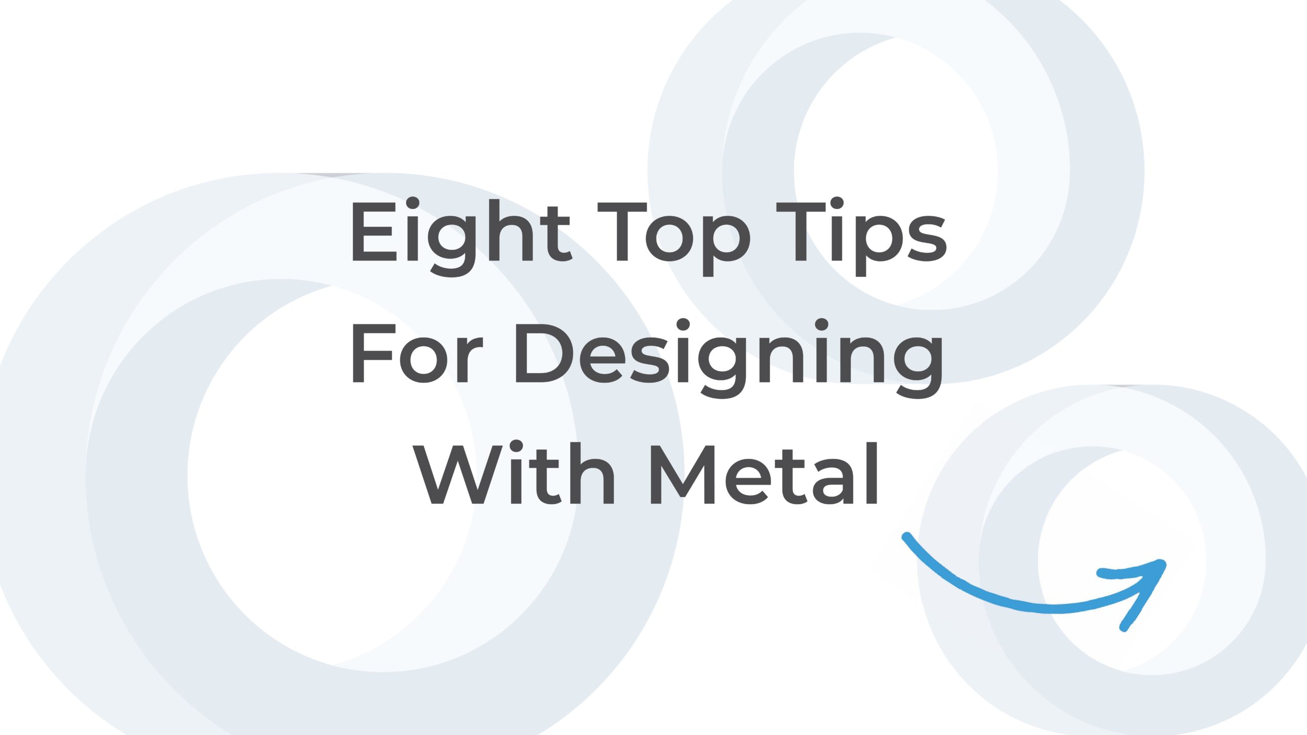 Cover thumbnail reads 8 tips for designing with metal