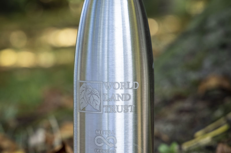 World Land Trust water bottle